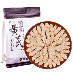 【聚和泰】新切纯天然黄芪片500g
