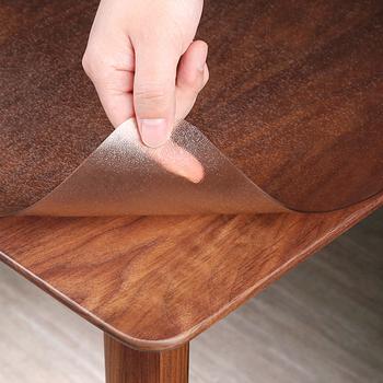 Безвкусный PVC мягкий стекло прозрачный обеденный стол рука наводнение доказательство горячей одноразовый кристалл доска пластик клей кофейный столик подушка толстый, цена 430 руб