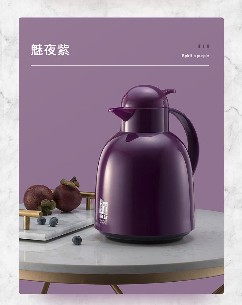物生物欧式保温壶 家用热水壶暖壶开水大容量学生宿舍暖瓶暖水瓶商品详情图