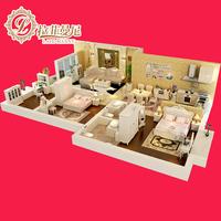 Рафимани одноразовый кухонный диван + журнальный столик ТВ-шкаф + обеденный стул простая гостиная спальня спальня сочетание