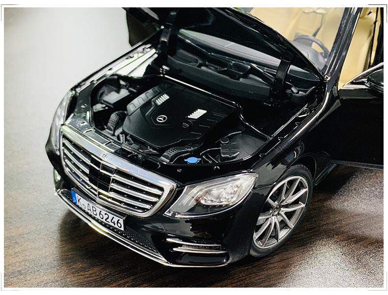 Xe mô hình tĩnh Mercedes-Benz S450L tỉ lệ 1:18 - ảnh 10