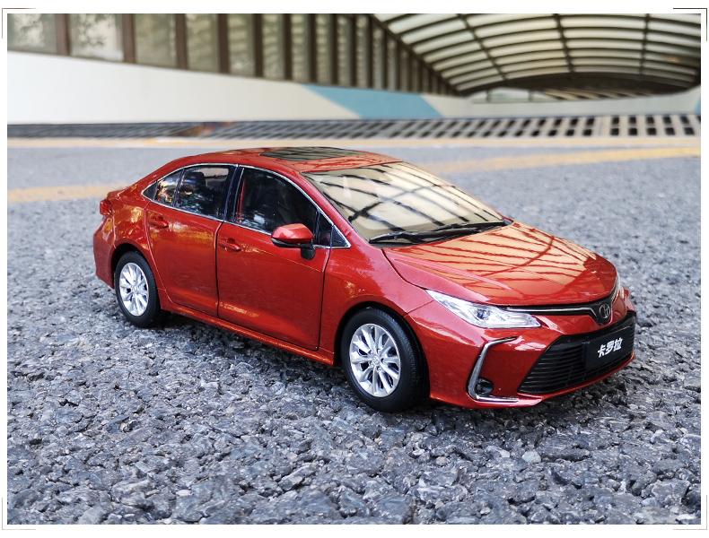 Xe mô hình  tĩnh Toyota Corolla Altis 2019 tỉ lệ 1:18 - ảnh 22