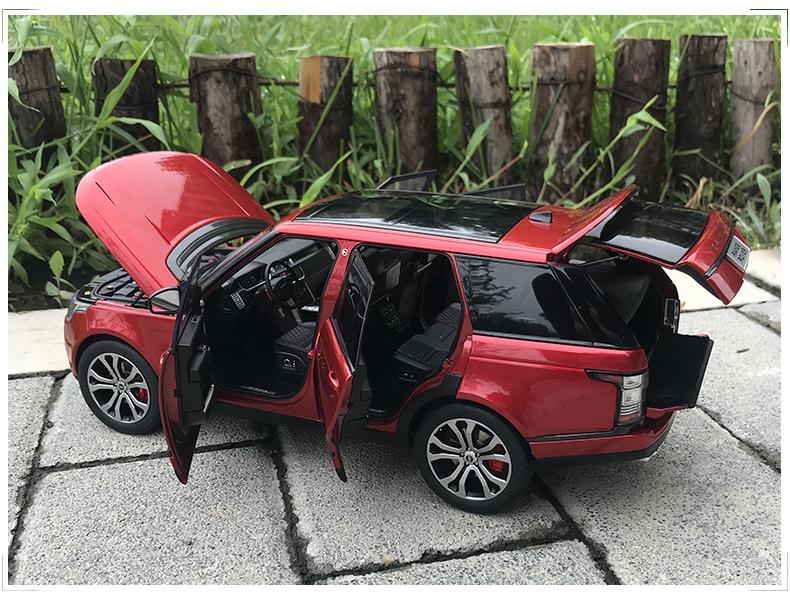 Xe mô hình tĩnh Land Rover tỉ lệ 1:18 - ảnh 23