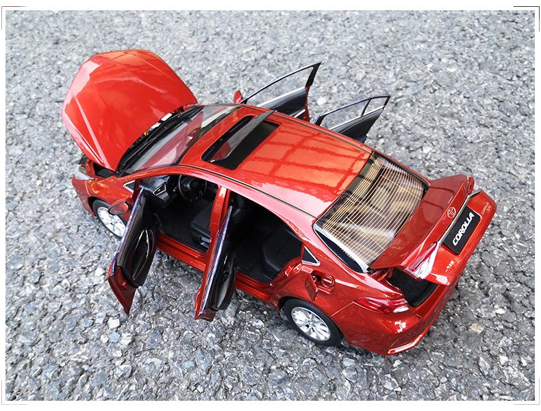 Xe mô hình  tĩnh Toyota Corolla Altis 2019 tỉ lệ 1:18 - ảnh 20