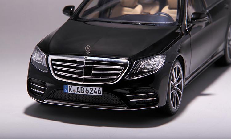 Xe mô hình tĩnh Mercedes-Benz S450L tỉ lệ 1:18 - ảnh 28