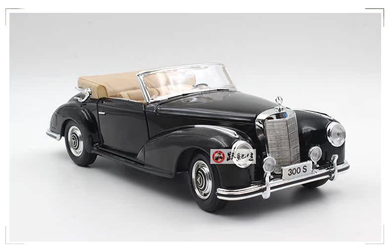 Xe mô hình tĩnh Mercedes-Benz 1955 tỷ lệ 1:18 - ảnh 2
