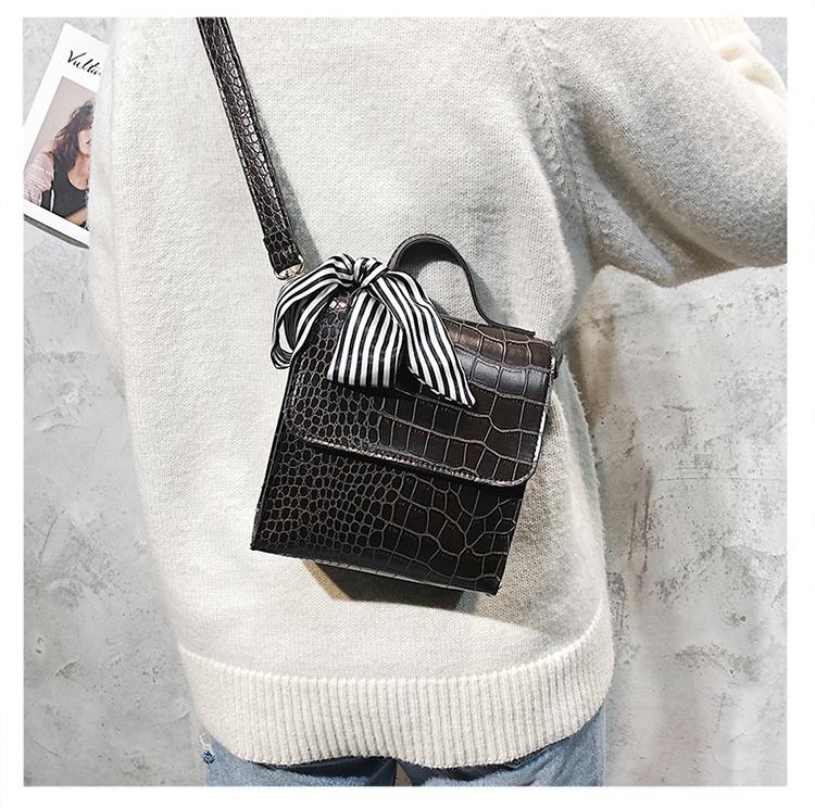 PU Fashion  Shoulder bag  (black)  Fashion Bags NHXC1077-black
