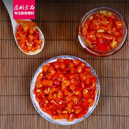 盈棚 原香剁椒辣酱 230g 9.9元包邮