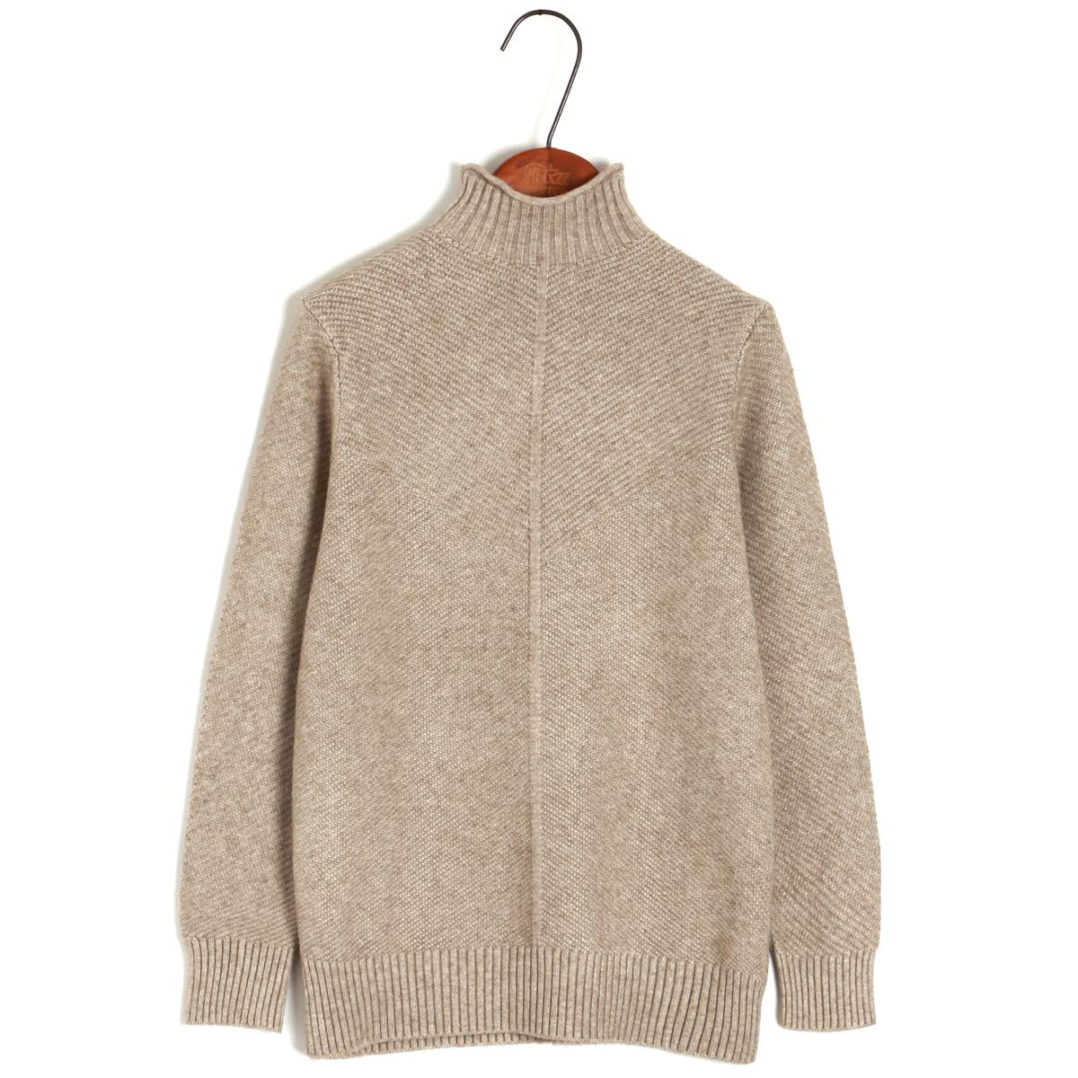 Mùa thu và mùa đông mới áo len cao cổ nửa cổ áo len nữ phiên bản Hàn Quốc của áo len ngắn ngắn liền thân dày làm đáy áo thủy triều - Áo len