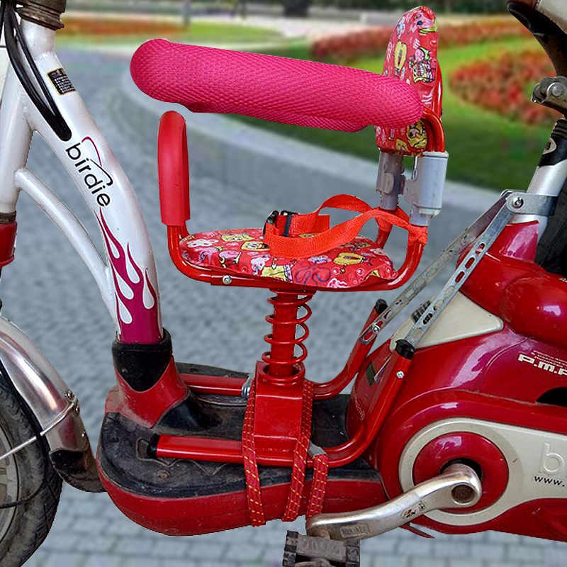 Electric bicycle child seat front baby chair electric motorcycle battery car child seat safety chair & Electric bicycle child seat front baby chair electric motorcycle ...