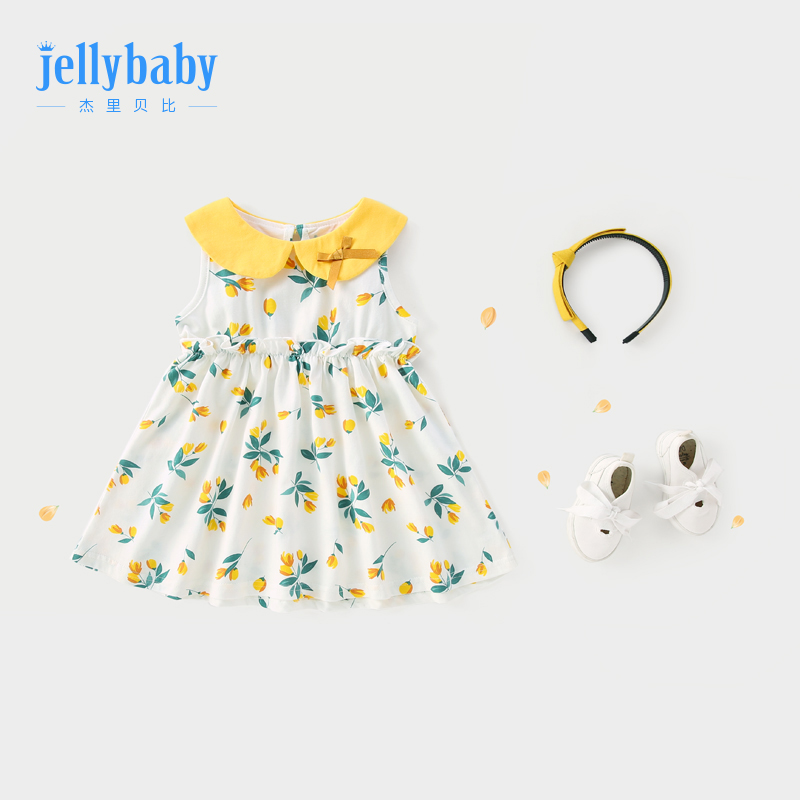 Girls dress 3 a 4 years old children Baby princess dress cotton summer 5 baby skirt 2019 new style