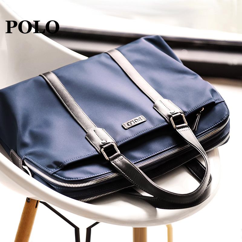 5a01254b1e Polo handbag male business casual Messenger shoulder bag simple oxford  cloth men s business package briefcase