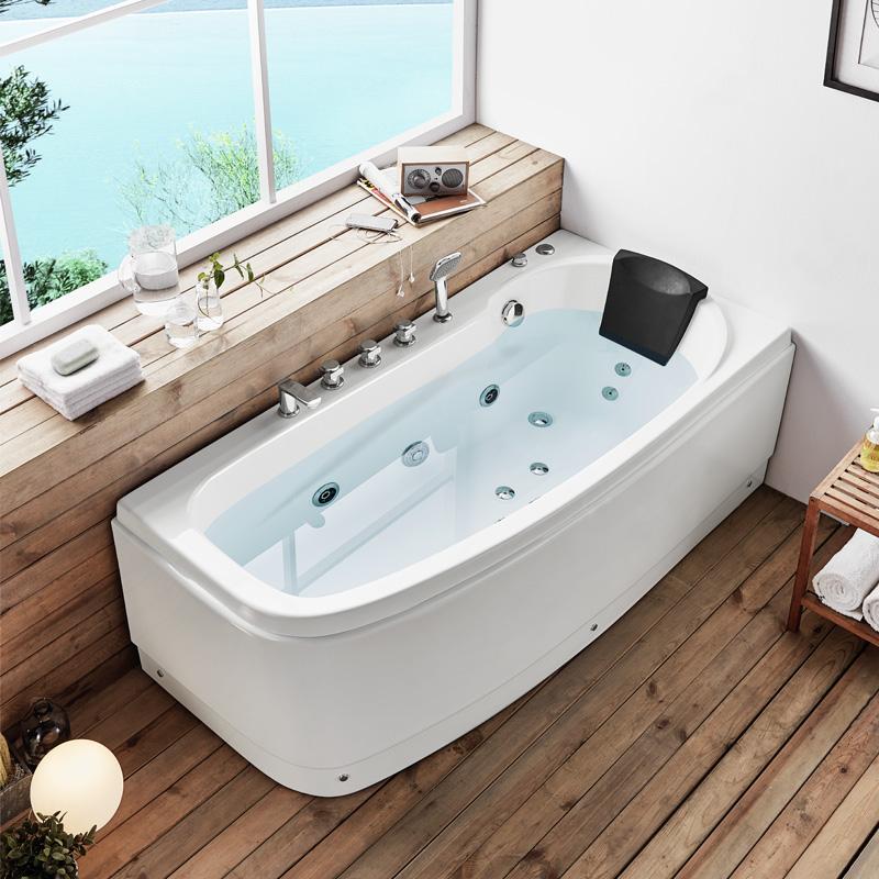 USD 1350.36] Keze Jacuzzi home adult luxury five-piece bathtub ...