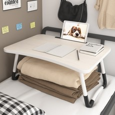 Bed desk computer table folding dormitory artifact small table bedside lazy bedroom with bunk student table