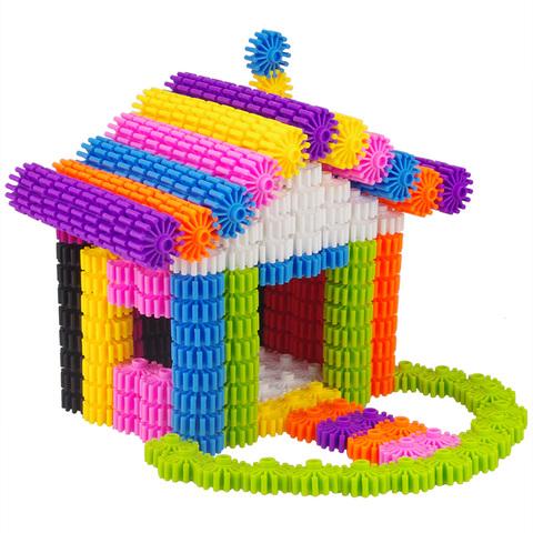 儿童益智玩具1女孩拼装齿轮7幼儿园2小孩5男孩拼插积木3周岁4-6岁