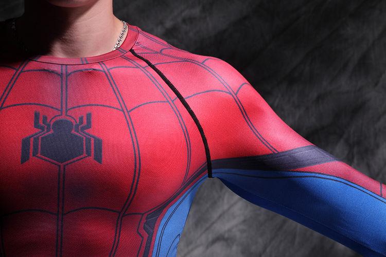 Vêtement fitness homme Hero manches longues en LYCRA Lycra - Ref 603249 Image 12