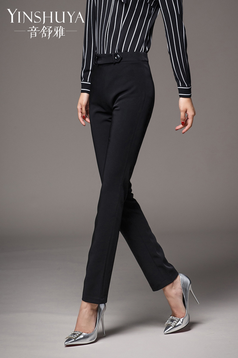 6ccfbb6c17 ... Shu ya professional pants summer New Black straight trousers suits suit  pants women slim thin · Zoom · lightbox moreview · lightbox moreview ·  lightbox ...