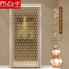 New crystal gourd Feng Shui home decoration bead curtain curtain living room bedroom porch partition curtain bead curtain