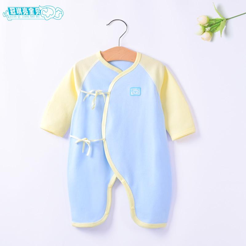 初生儿0-3个月连体衣
