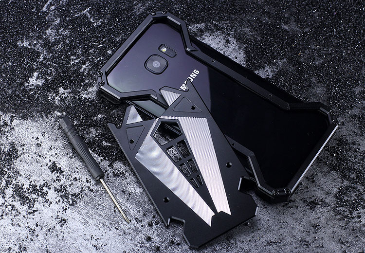 S.CENG Spider-Man Shockproof Aerospace Aluminum Metal Shell Case Cover for Samsung Galaxy S7 Edge