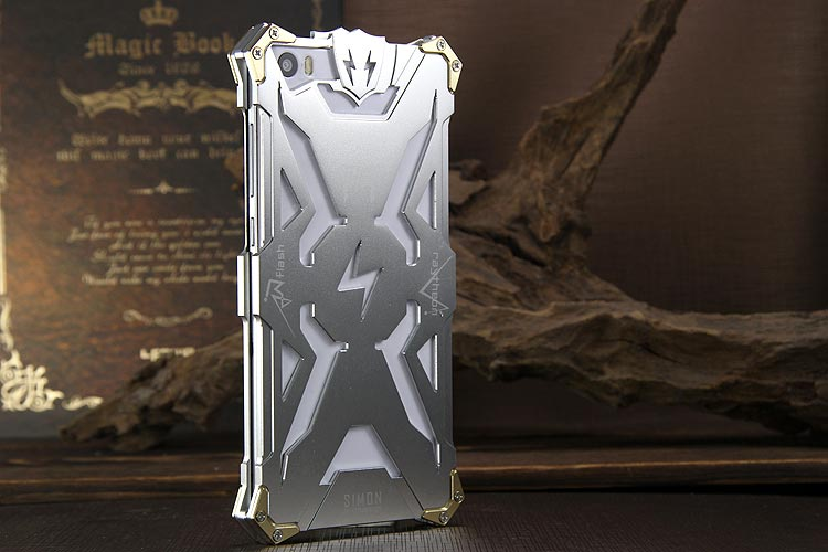 SIMON THOR Aviation Aluminum Alloy Shockproof Armor Metal Case Cover for Xiaomi Mi Note