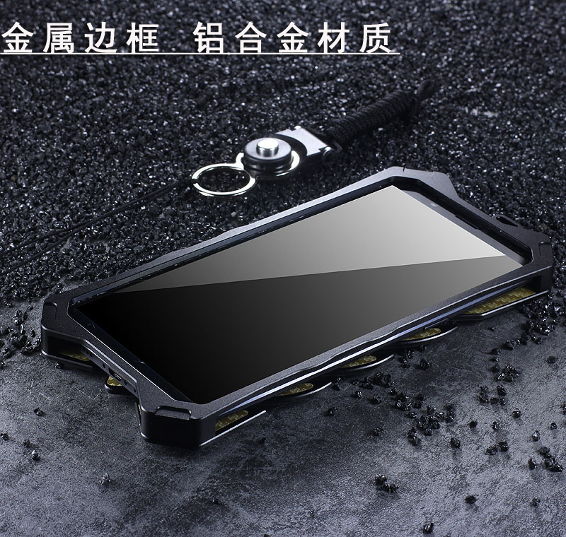 SIMON New THOR II Aviation Aluminum Alloy Shockproof Armor Metal Case Cover for OPPO R11s Plus