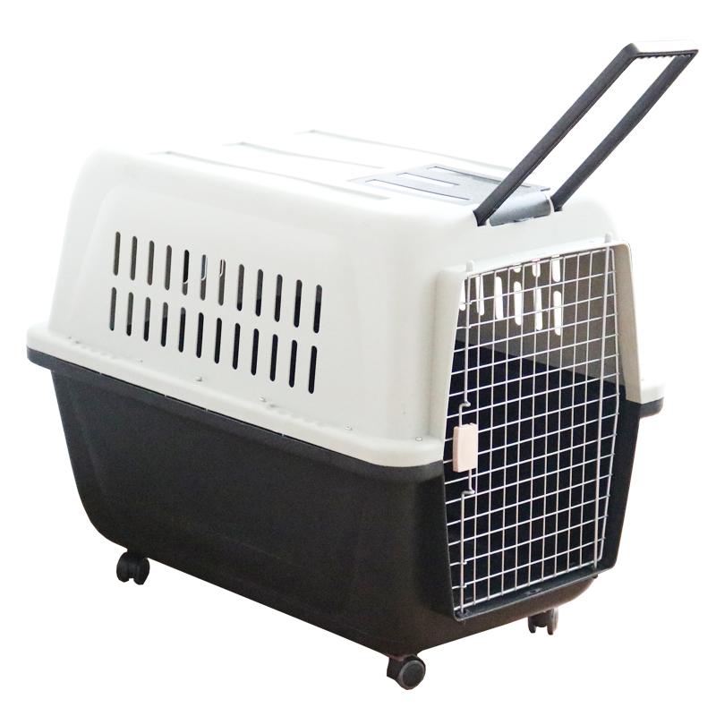 Воздушный ящик для тележки черный белый