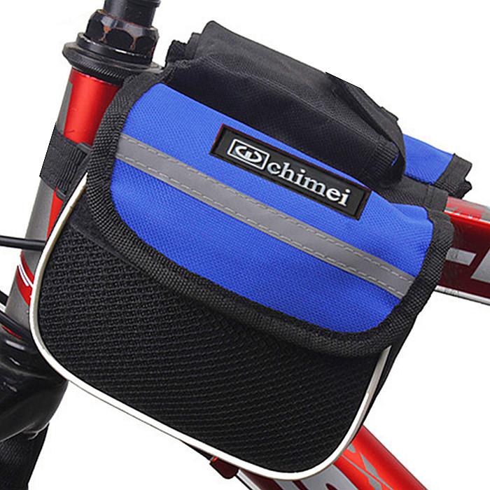 车前包包邮车上配件山地单车马鞍包手机横梁包装备骑行管包自行