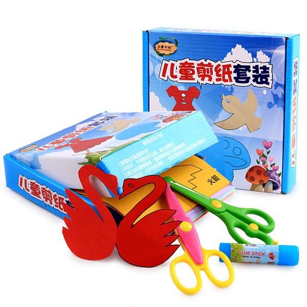木意天使 儿童手工剪纸套装 200张 优惠券折后¥14.8包邮(¥19.8-5)