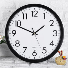 Watch the living room wall clock creative fashion home free punch clock quartz clock electronic mute modern minimalist bedroom