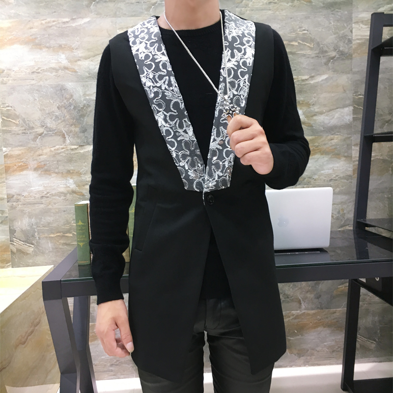 A New Male Fashion Lace With L...