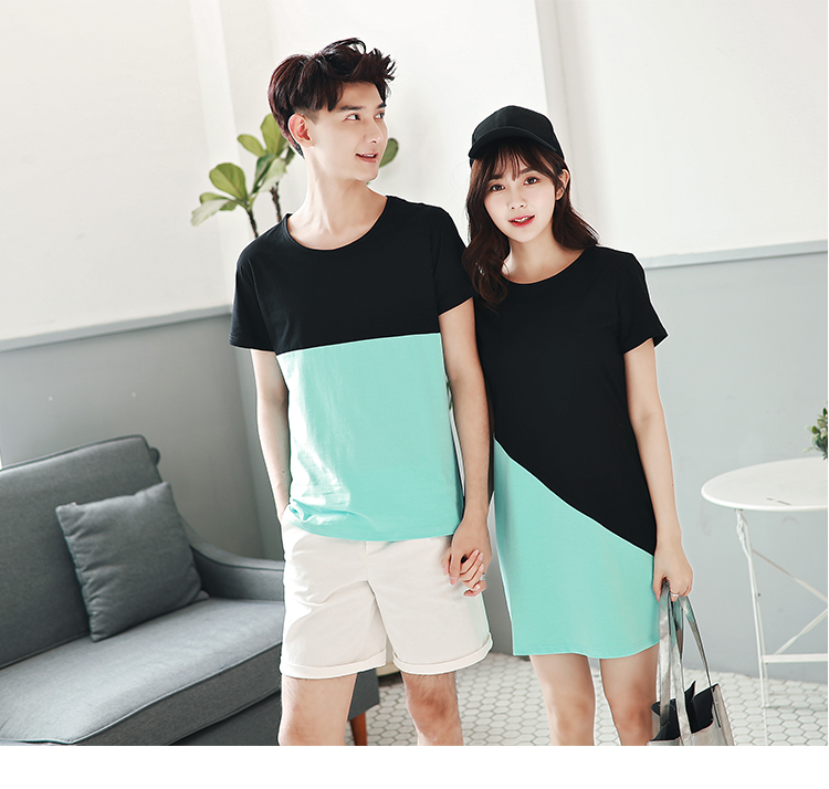 62a00150100 2018 Couple Clothes For Lovers Summer Holiday Wear Short Sleeve ...