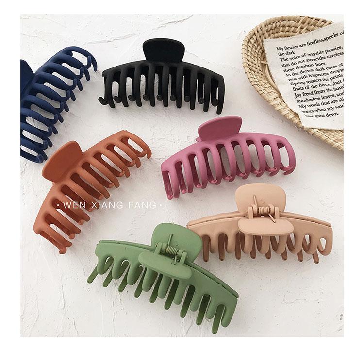 large shower hair catch clip hairpin makeup clip headdress Korea large size top clip hair accessories wholesale NHOF217386