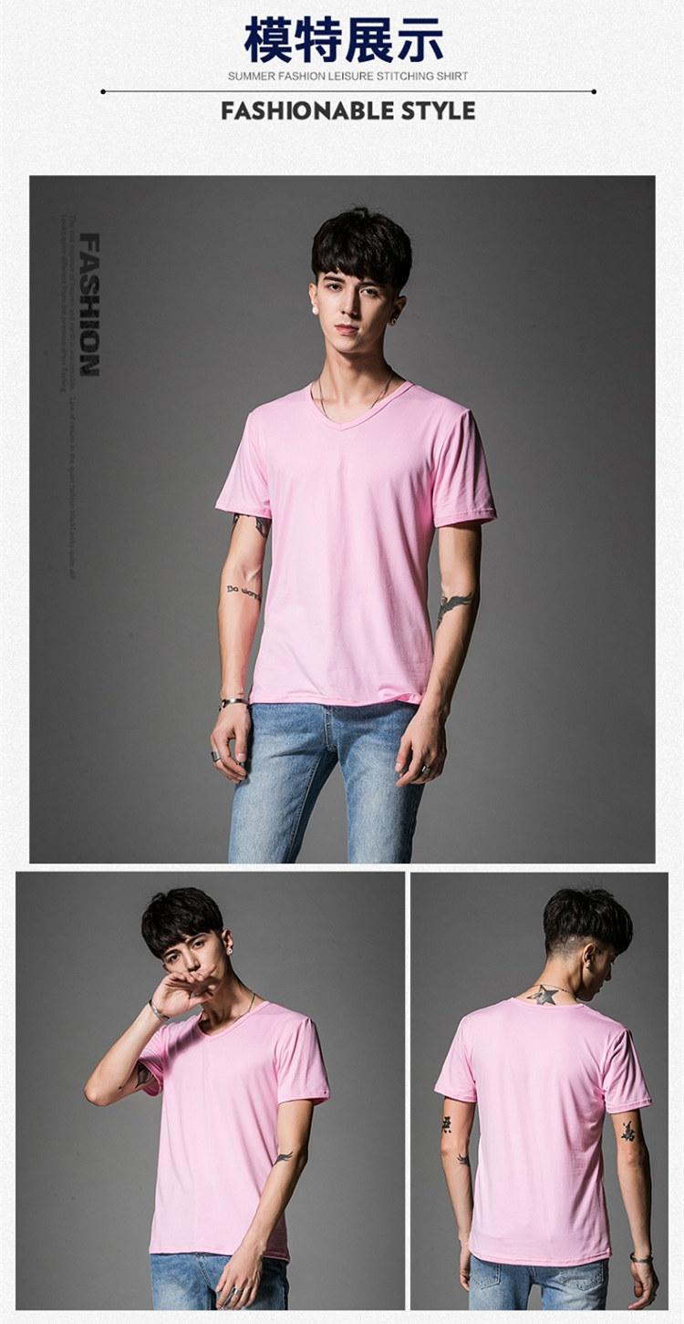 Nhà sản xuất bán buôn 10 nhân dân tệ nửa tay áo nam dài tay t- áo sơ mi có thể được truyền nhiệt màu áo sơ mi nam giới 9,9 nhân dân tệ áo thun tay dài nam
