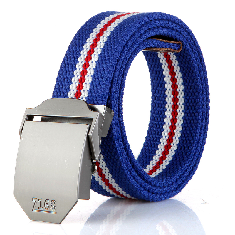 N17 168 buckle blue red and white stripes