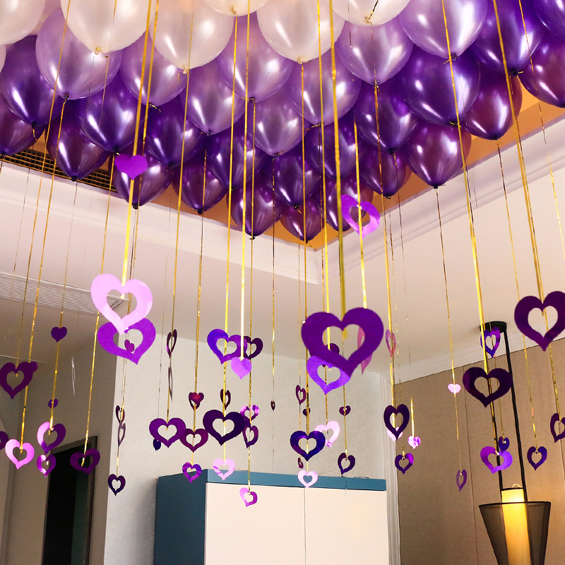 Wedding Room Decoration Balloon Romantic Creative Layout Birthday New House Bedroom Supplies Daquan