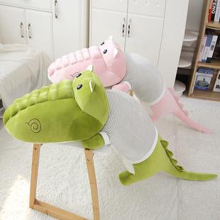 鳄鱼公仔毛绒玩具睡觉抱枕头