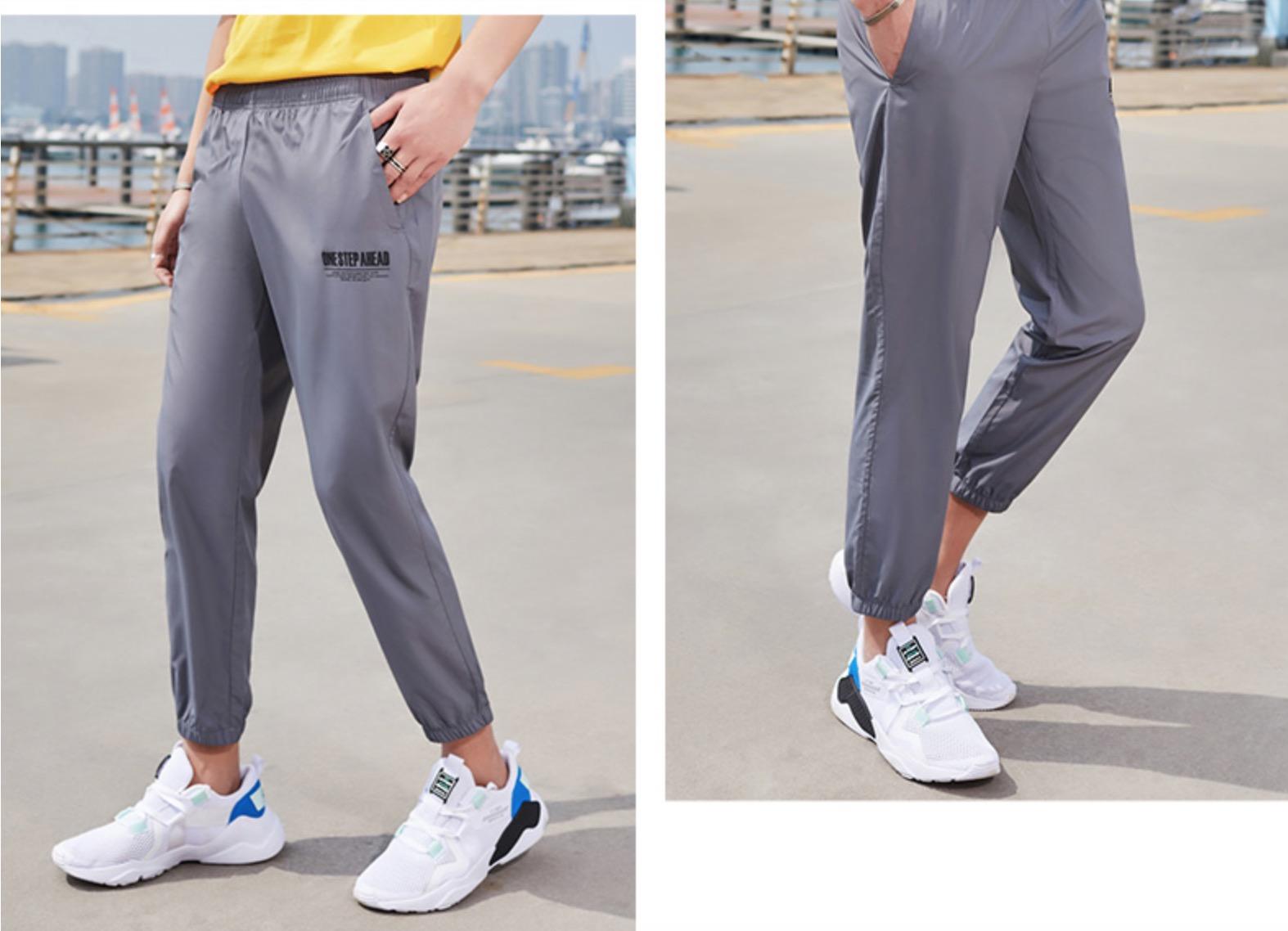 百搭时尚潮流运动裤,穿出阳光型男范