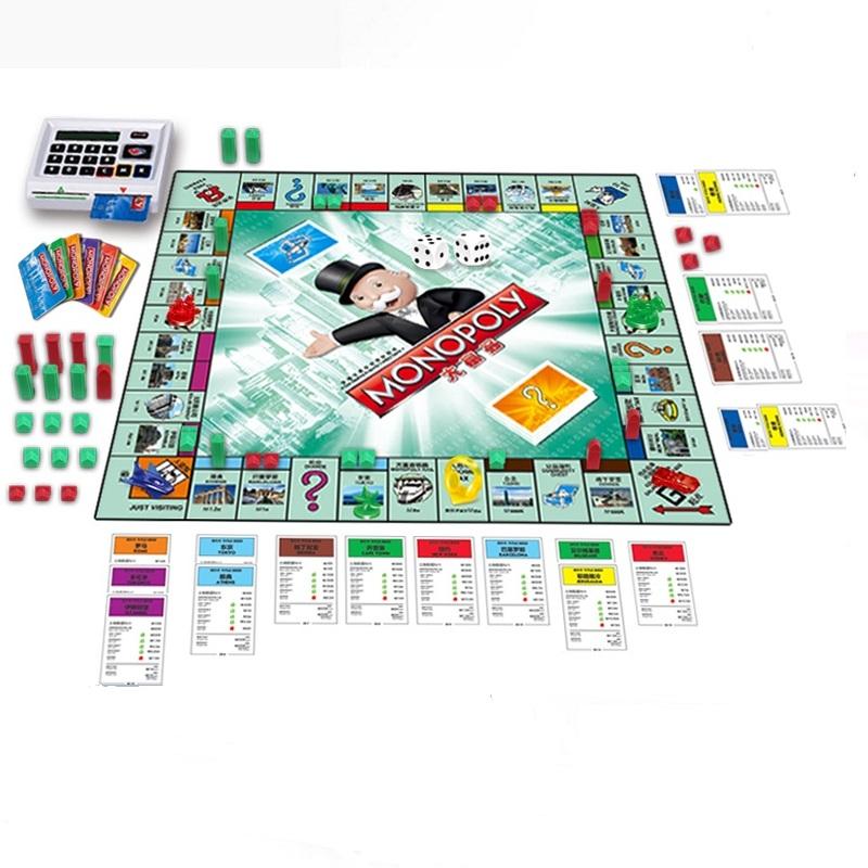 正版大富翁游戏棋儿童世界之旅成人桌游