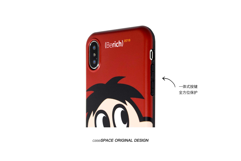 壳空间原创红色新年适用苹果手机保护壳网红详细照片