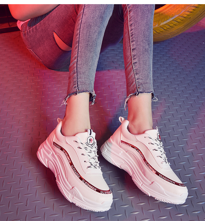 size 40 005d2 34429 Women Retro Sports Shoes Thick Bottom Wild Trend Outdoor Fashion Rubber  Shoes