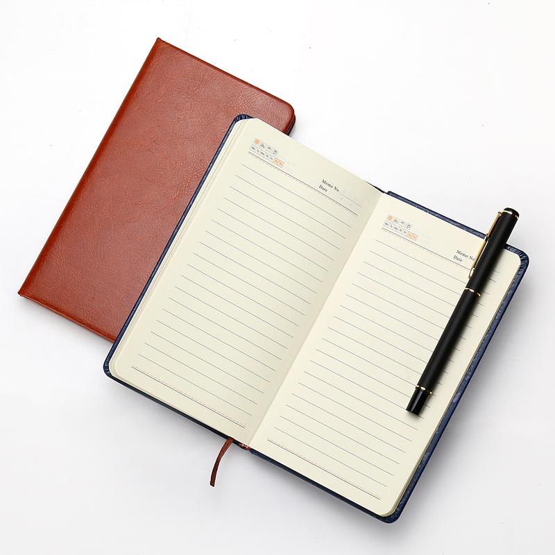 深泰a5创意商务笔记本子记事本办公用品加厚文具B5记事本定做工作会议记录本A4大号日记本定制笔记本可印logo
