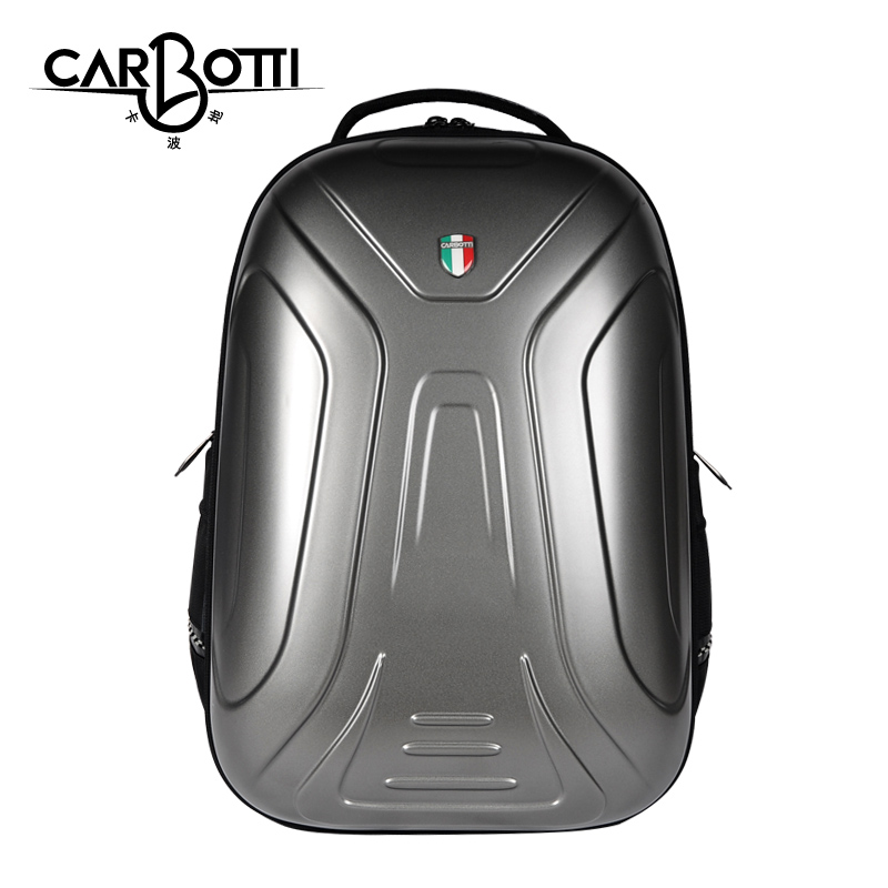 6dedee9168a2 USD 122.52  carbotti shoulder bag male fashion Beetle hard shell ...