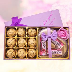 德芙巧克力创意组合装12枚入