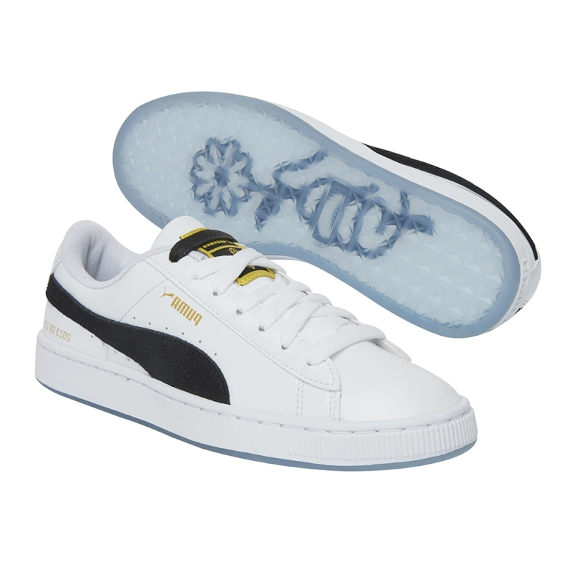 Y Grupo De Puma Balas Mismo El Flores Casuales Bts X Prueba Limitado Blanco A Charol Párrafo Juvenil Zapatos Pequeñas Negro Con Blancos ZPXOkiu