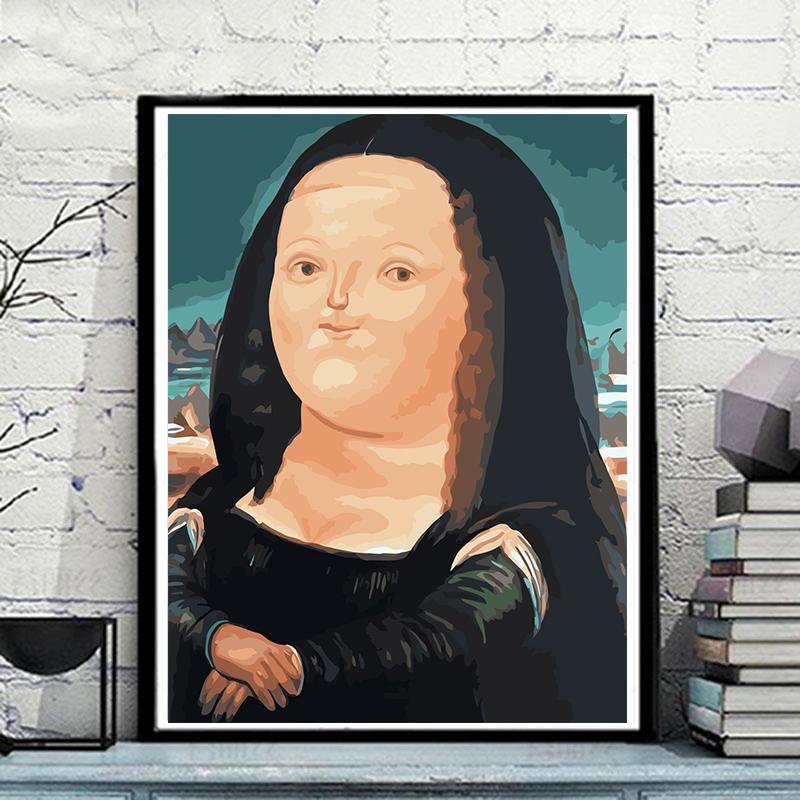 Голубой  204-Q версия Мона Лиза