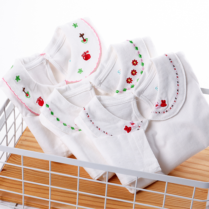 fb19a30c99f7 USD 37.33  Cotton baby shirt white long-sleeved spring clothes baby ...