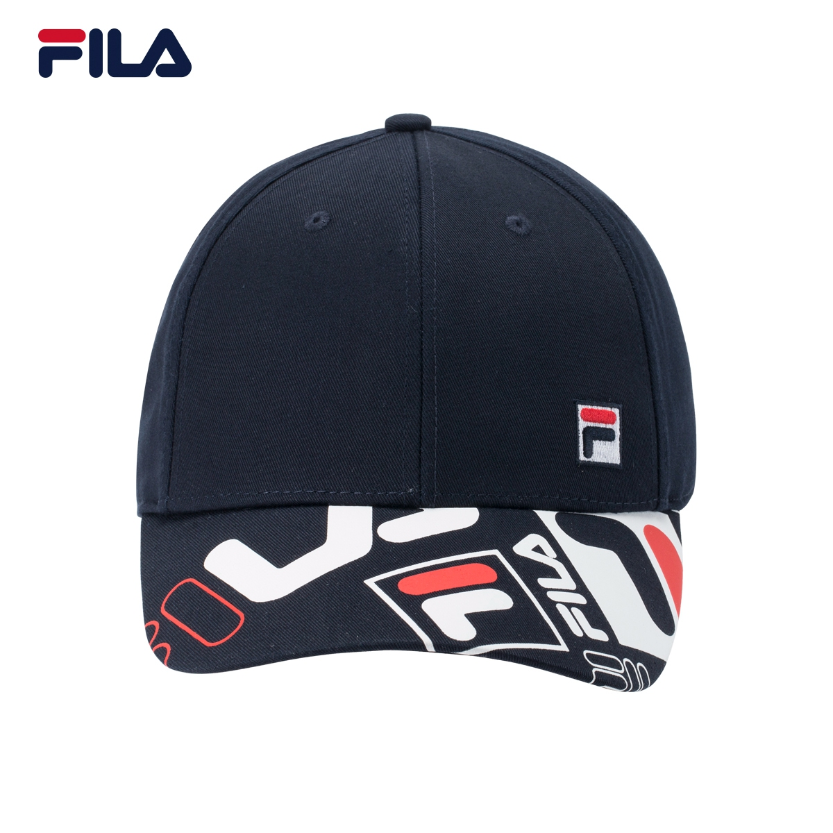 3e87d68f579 ... baseball cap  Share. FILA Fei Le Male Hat 2018 official authentic sports  and leisure printing wild duck tongue baseball