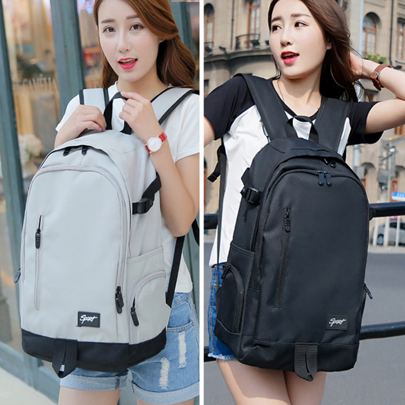 ins school bag female Korean high school super fire backpack backpack male computer large capacity Travel Travel Travel Bag