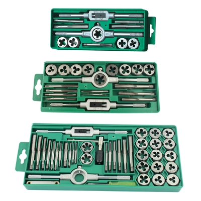 Hand power tool lion pull teeth Set 40/20/12-pack die tapping taps